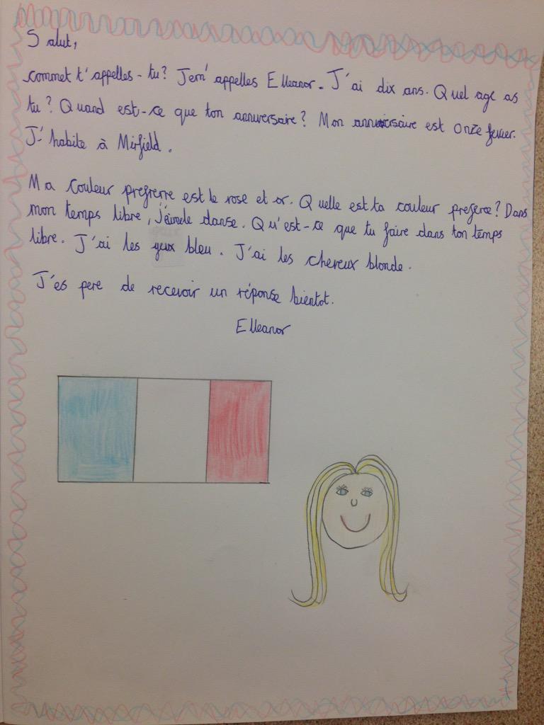 Job Application Letter Sample In French