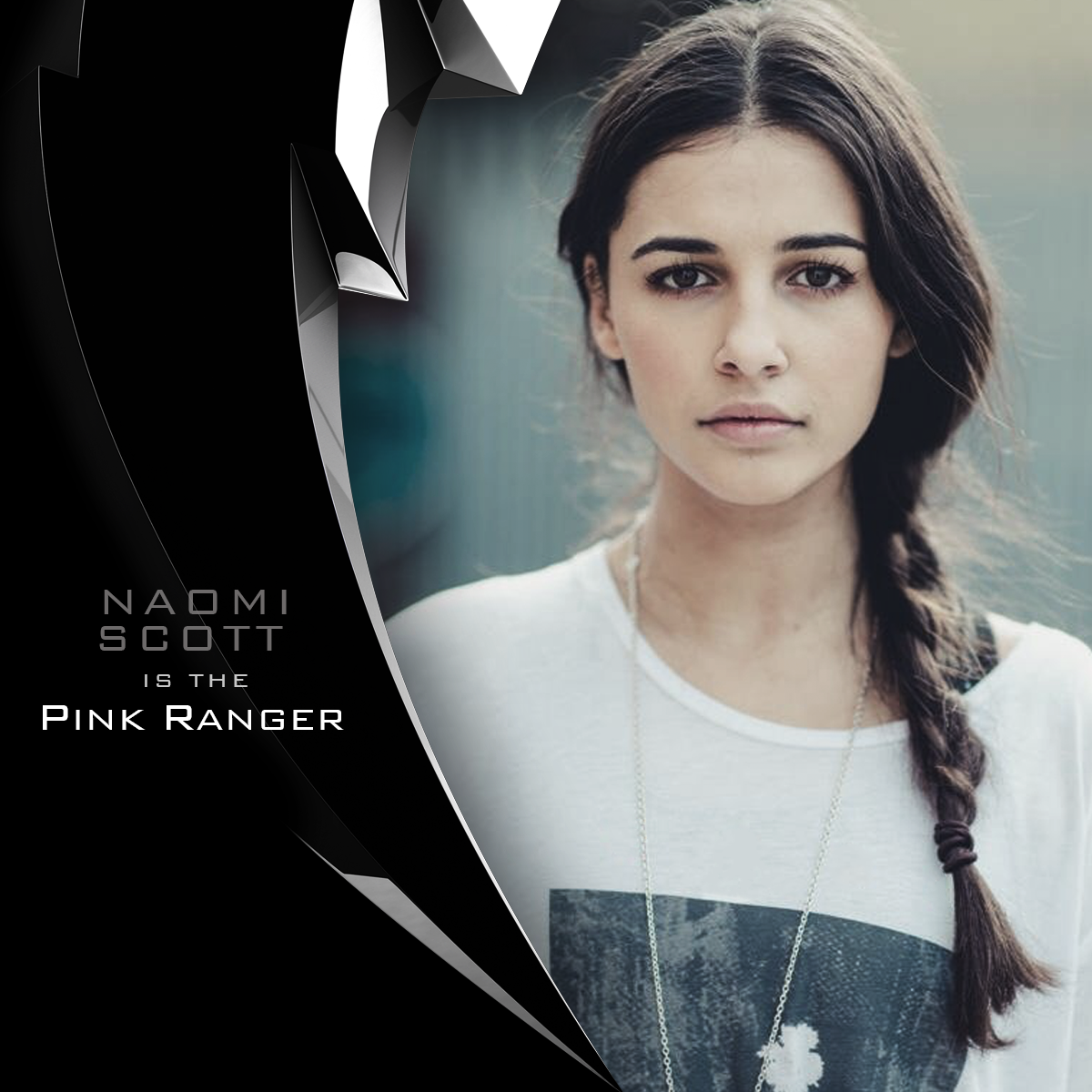 BIG #PowerRangers movie news - @naomiscott is playing the Pink Ranger! Follow @PowerRangersMovie on Instagram! http://t.co/UpO3cXO2pr
