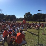 Enjoyed speaking to the @CUTigerBand today! Love their passion and pageantry! http://t.co/PYa8XfRQat