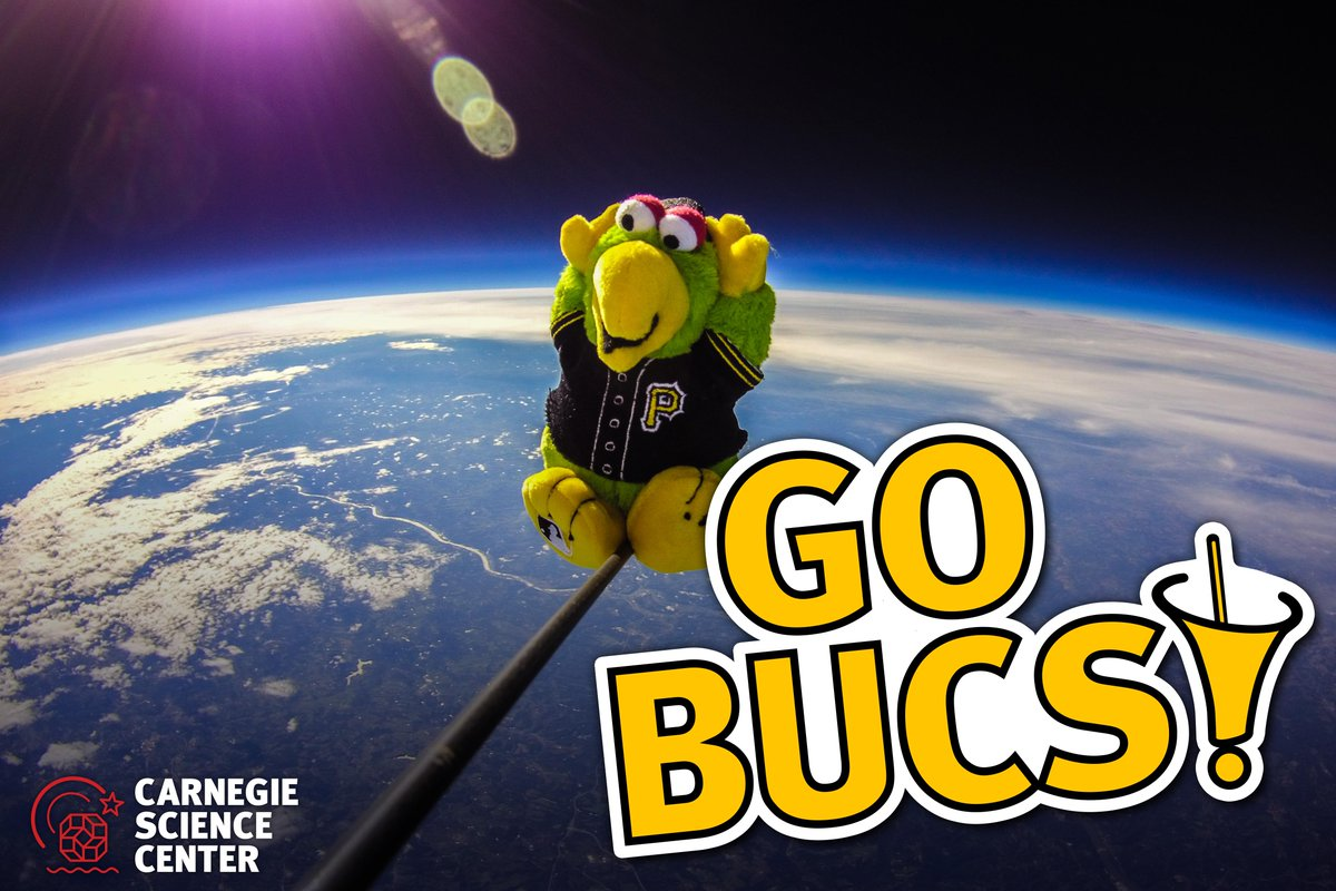 From Pittsburgh to the edge of space, we're rooting for you, @Pirates! Video: https://t.co/XNTSFWlX12 http://t.co/FxJt6eZnUE