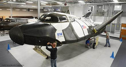 .@SNCspacesystems #DreamChaser preparing for 2nd free-flight test http://t.co/4DSY4dLWac #MileCloser http://t.co/FwSEii7dRQ