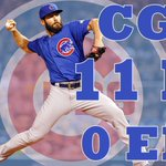 What a gem from Jake Arrieta. He becomes 1st pitcher in postseason history to pitch shutout with 11 K and 0 BB. http://t.co/mWNy2lrOsn