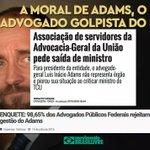 """Adams diz que """"jogo não acabou"""" após decisão do TCU!! Avisa este palhaço que o Brasil não é tabuleiro do PT! http://t.co/L6M1FOfKV2"""