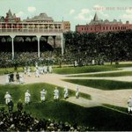 Go #Cubs! Last World Series win 1908 at West Side Ballpark, where #UIC College of Medicine stands today http://t.co/ngueaNj8ZI