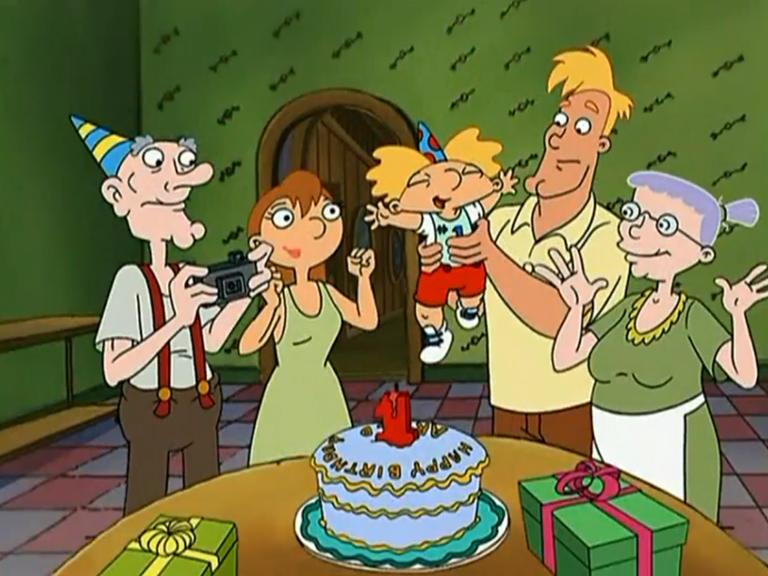 #HeyArnold is 19 years old today. Celebrate with the first episodes tonight at midnight! http://t.co/dNo7ro9M42