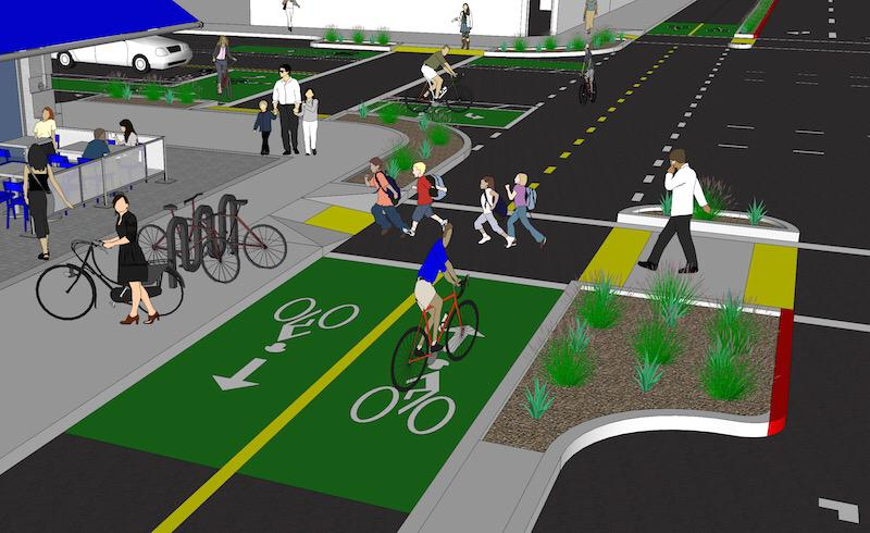 A network of protected bikeways in Downtown Oakland is possible | https://t.co/a6hXhtagyw http://t.co/PJnMEAuMMn