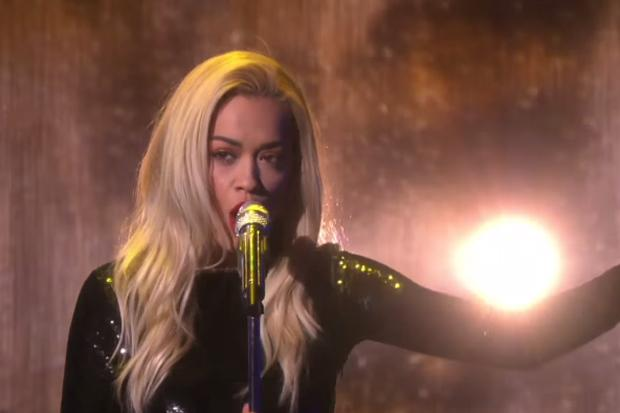 RT @idolator: ICYMI @RitaOra performed a solo version of
