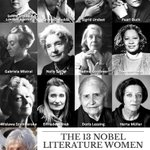 #NobelFacts 13 women have been awarded the #NobelPrize in Literature so far between 1901 and 2014 http://t.co/3MhzmlmXZ6