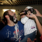 When you throw a complete-game shutout in October, you can let your kid pour you champagne. (via @USATODAYsports) http://t.co/bgbAcI64IH