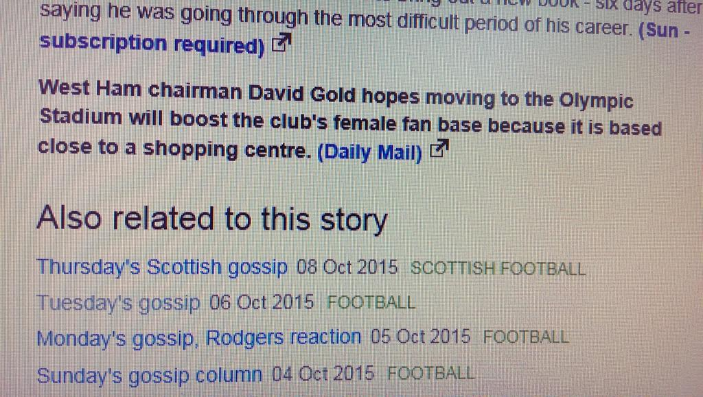 More female fans? Great thought David, because we could do with combatting sexism in footb.... oh for pity's sake... http://t.co/tZOEIwEuba