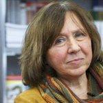 2015 #Nobel Edebiyat Ödülü Belaruslu muhalif yazar #SvetlanaAleksiyeviçe verildi http://t.co/xIlJpszRM7 http://t.co/6aRl26vkkm