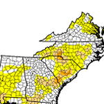 Only spot I could find still under drought in SC is far southern portion. Comparison of last week vs this week: http://t.co/uleRpFt2UV