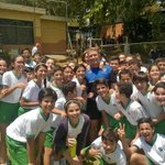 Our very own Joe Aygul has been coaching school children in Venezuela this week with @premrugby http://t.co/209mJEHLTU