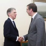 W/ @PHammondMP on dialogue w/ Pristina, protection of our sanctities in KiM, #refugees and reforms in #Serbia http://t.co/3UJcYBqdOq