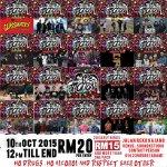 19 BANDSSS! SEE YOU GUYS THIS SATURDAY! Jalan Reko, Kajang. #ChaosInMotion http://t.co/eX9utc6azf