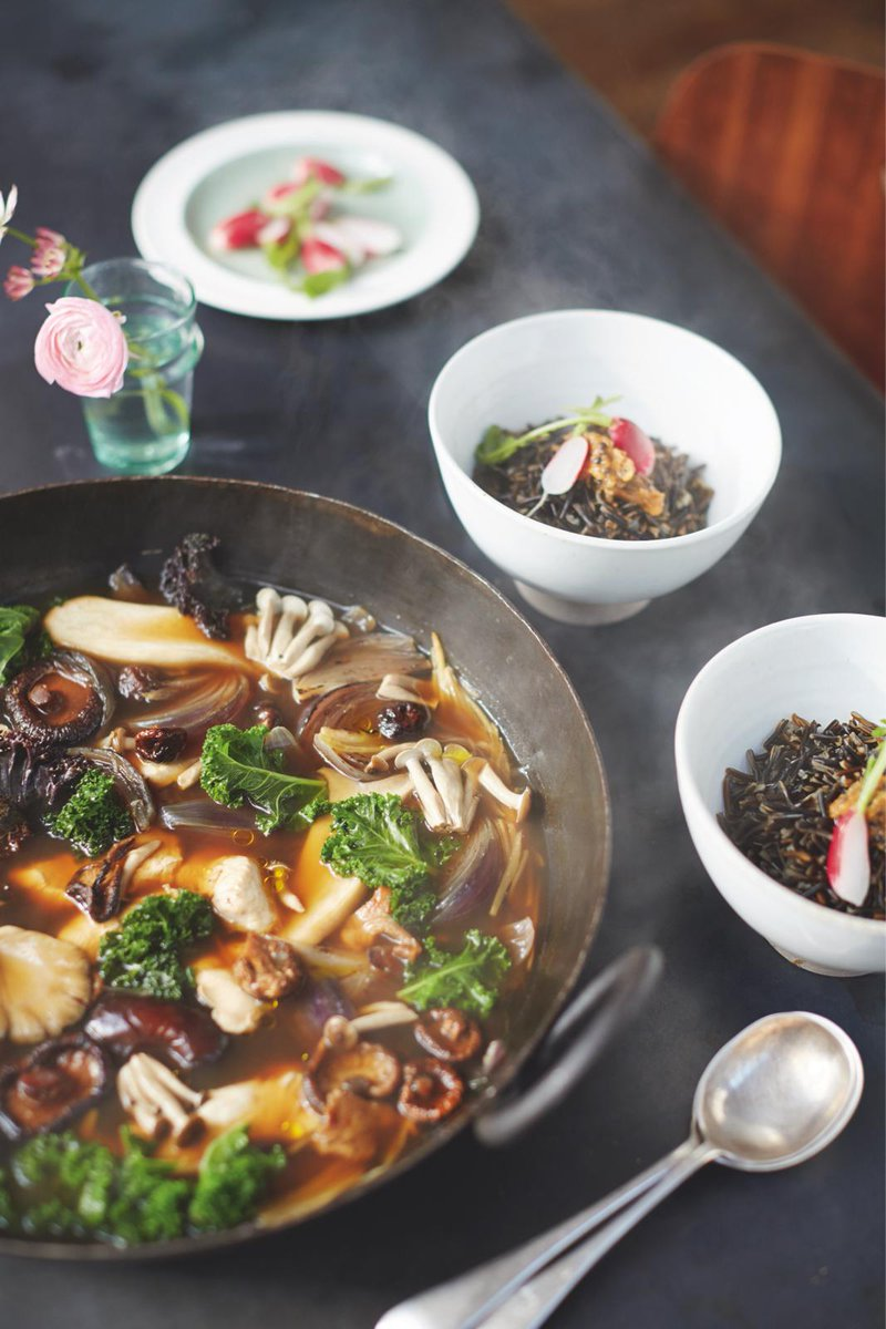 #Recipeoftheday Super-tasty miso broth with chicken, mushrooms & wild rice #JamiesSuperFood http://t.co/sjaCKVejPc http://t.co/6SXdM7h9SF