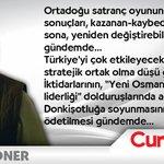 Şükran Soner yazdı: #ORTADOĞU SATRANCINDA... http://t.co/wma6cQaZ6l @RT_Erdogan @KremlinRussia_E @StateDept http://t.co/HgvToYc3Kc