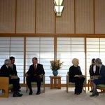 Japon İmparatorunun kabul odasının sadeliği... Ülkenin itibarı döşeme ile değil yurttaşlarının refahı ile ölçülüyor http://t.co/jBa3ugQgec