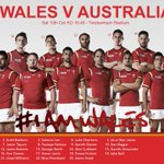 Team Announcement Six changes @Gareth_Anscombe @SanjayWills @Paul_James1 Lee, Charteris and Tipuric all start http://t.co/GLLC7gQty7