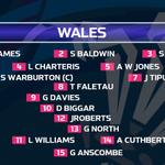 #WAL make 6 changes for Pool A decider v #AUS with @george_north starting at outside-centre for a third time in tests http://t.co/9GkMuIqPeb