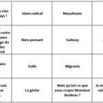 Je vous ai préparé le bingo pour lintervention de Morano au JT de TF1 ce soir. Attention, il y a un piège. http://t.co/lgswi2CA6o