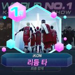 iKON number 1 son on MCountdown this week! Congrats boys and iKONICS! #RhythmTa1stWin #iKON4thWin http://t.co/71YeK1WFDV