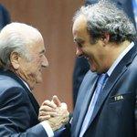 SICAK HABER! FIFA Etik Kurulunda Blatter ve Platiniye şok ceza! Detaylar burada: http://t.co/57il66FgL0 http://t.co/jZ8acHB78F