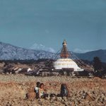 Vintage picture of Boudhanath #nepal Photo: Toni Hagen #boudha #peace #wow #nepal http://t.co/xUIkfKa7Ii