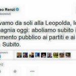 +++DIFFONDIAMO+++#M5S propone labolizione del finanziamento pubblico all#editoria. Pd lo boccia.Renzi diceva balle http://t.co/eum3FIugJ3