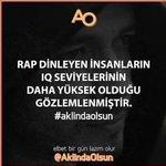 """@Turkrapfm Vurur Yüzüne İfadesi """"Rap"""" Dinleriz Abisi.. ???????? Rap dinlemek Ayrıcalıktır.!!! http://t.co/fLIDFO0lli"""