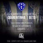 Nação Bicolor, vamos prestigiar este lançamento das duas camisas retrô, Beto e Quarentinha merecem esta homenagem. http://t.co/GzX64CYHKp