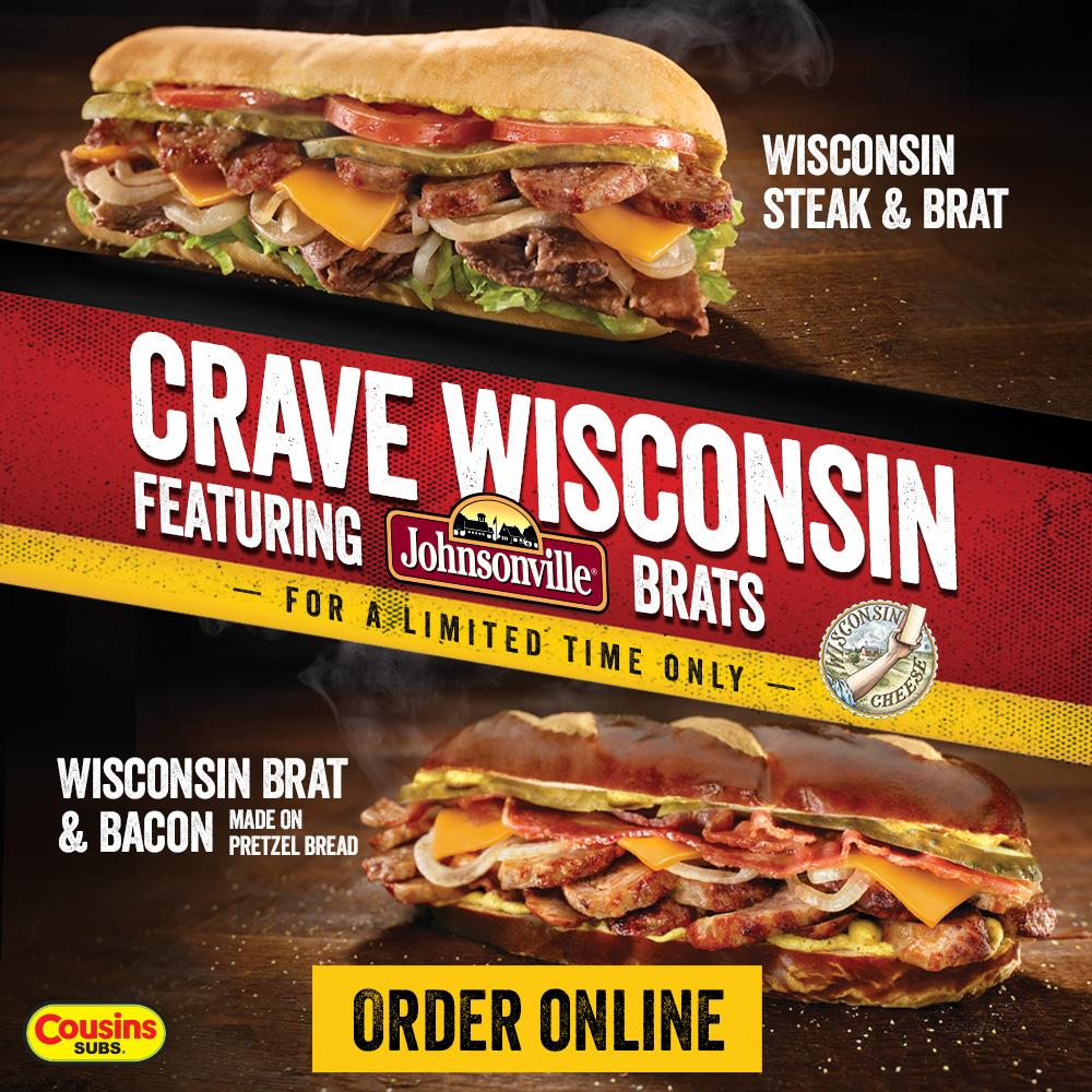 It's more than a brat – it's a lifestyle. #CraveWisconsin http://t.co/E8q0WnOled http://t.co/8Y2XWURsNG