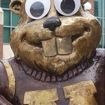 Goldy the Gopher #ScareMeIn3Words http://t.co/v1jPjamaee