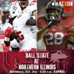 WATCH: @BallStateFB at @NIU_Football. LIVE at 3:30 p.m. on @ESPN3 - http://t.co/o1hInaboGt #MACtion http://t.co/BEVNVslUSW