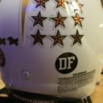 #Warhawks with DF on their helmets this week at Tulsa to honor fallen teammate Daniel Fitzwater http://t.co/lgzok0yP11