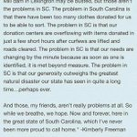 I love my state. Stay strong, South Carolina. http://t.co/x9NqweqllR