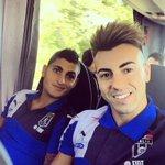 Stephan El Shaarawy et Marco Verratti se retrouvent avec la sélection italienne... http://t.co/MNlAewmLSq