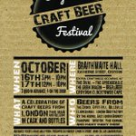 Next week! Croydon Craft Beer Festival - Fri 16th and Sat 17th Oct  Tickets available: http://t.co/aeHmjhdJq2 http://t.co/0zKE7lUKfJ