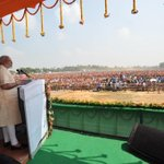 4 rallies across Bihar & everywhere the  peoples desire for change is evident. Here is a picture from Munger. http://t.co/3cHJ3tD41w