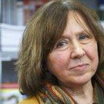 Nobel Edebiyat Ödülü Svetlana Alexievich'e http://t.co/tZadvAmJoY http://t.co/edXKiCkd0Q