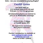 @Fitzalan_PE Any girls excited by World Cup & fancy playing Rugby?. New players always welcome. http://t.co/WOxyYNo3CH