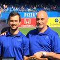 Proud of athletic therapy student Josh Katz for keeping @BlueJays healthy for the playoffs! #ComeTogether #gojaysgo http://t.co/uQKKEit38S