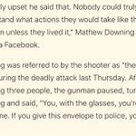 Oregon shooting survivor offended by Ben Carsons remarks http://t.co/Fb1zO11SNQ http://t.co/FiAwsERVGI