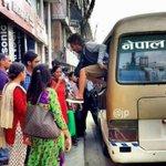 Life in the time of Blockade! #Nepal Image : Gaurav Rai http://t.co/Am1BhHMp5P