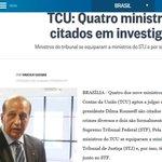 Suspeitas no TCU: Cedraz: corrupção Nardes: corrupção Carreiro: corrupção Vital do Rêgo: compra de votos Só isso? http://t.co/uSDwcEZ3Jr