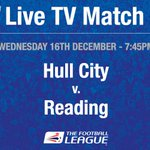 TV GAME: @HullCity v @ReadingFC has been selected for live TV coverage by @SkySports http://t.co/6bZcTjJFHO