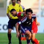 【試合速報】 日本が天王山制しW杯予選首位浮上…本田、岡崎、宇佐美の得点でシリア撃破 http://t.co/Bic1GjSrwe ロシアW杯アジア2次予選が8日に行われ、日本代表がシリア代表と対戦しました。 #daihyo http://t.co/4IuKkHy40U