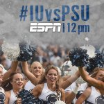Network Update: #PSUHomecoming game versus Indiana will now air on ESPN. #IUvsPSU http://t.co/YwKatzBFll