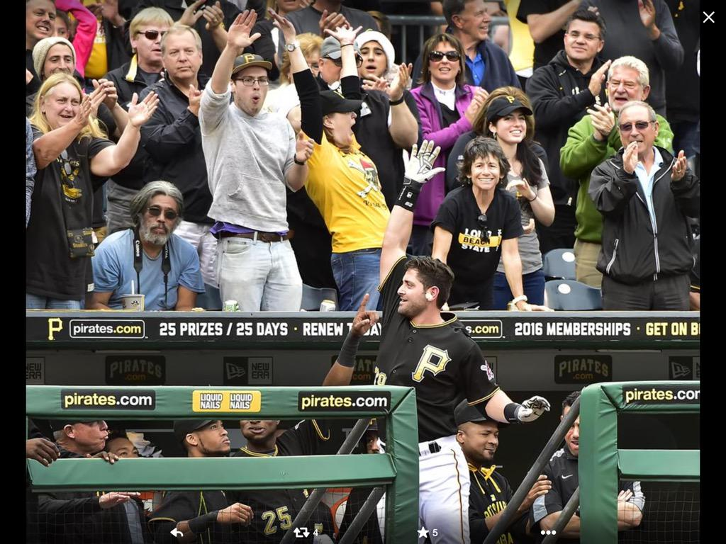 Thanks Pittsburgh fans for the support and the love...... You guys are especial and this city is amazing... http://t.co/2nqC0dxkOR