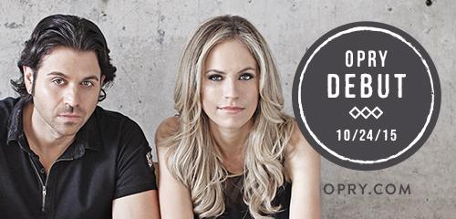 It's official. We'll be taking the Opry stage for the first time 10/24! #OpryDebut http://t.co/kHNG9tKRF9